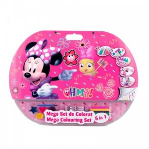 Mega set de colorat 5in1 Minnie-500x500