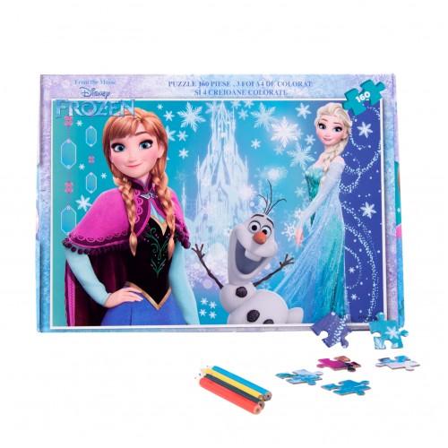 Puzzle-160-piese-bonus-Frozen-FZN-XP09